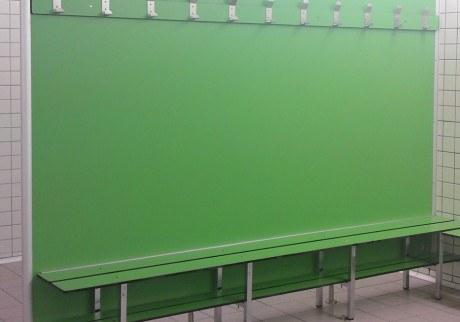 Banco pared