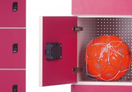 Melamine lockers