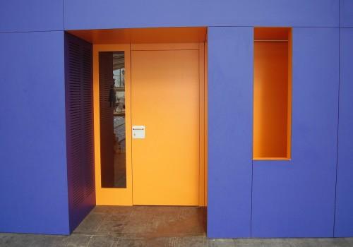 Sandwich doors